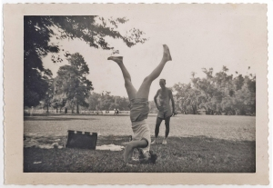 My aunt was the only adult I knew who could do a headstand.