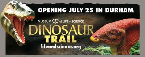 Dinosaur Trail billboard