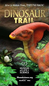 Dinosaur Trail outdoor banner