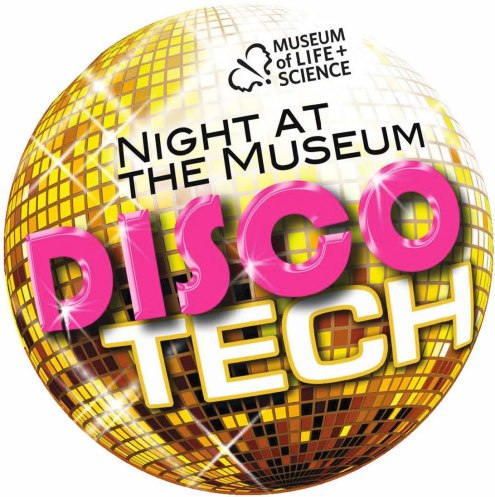 DiscoTech fundraiser invitation