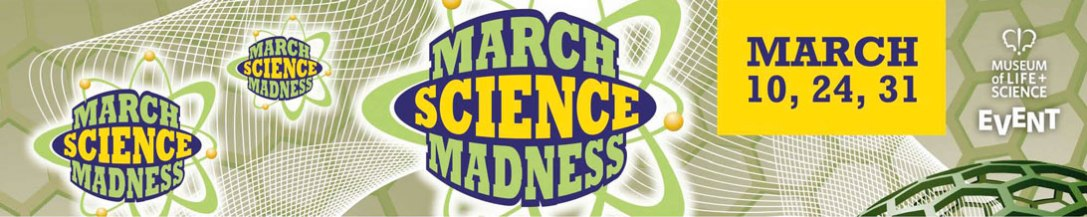 March Science Madness banner
