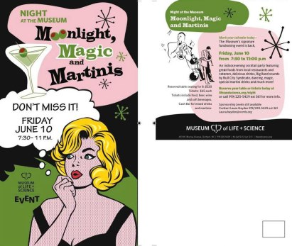 Moonlight Magic and Martinis fundraiser