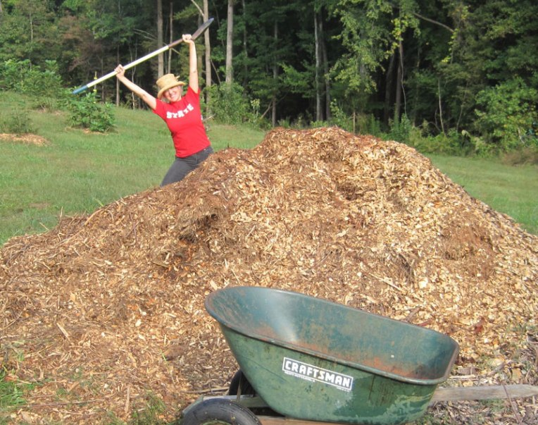 One can never have enough mulch.