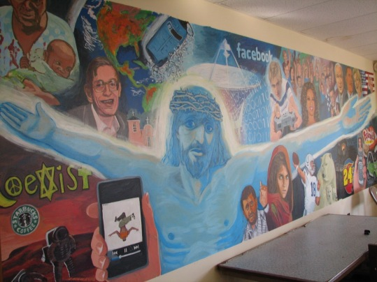 Church mural 17' x 5'