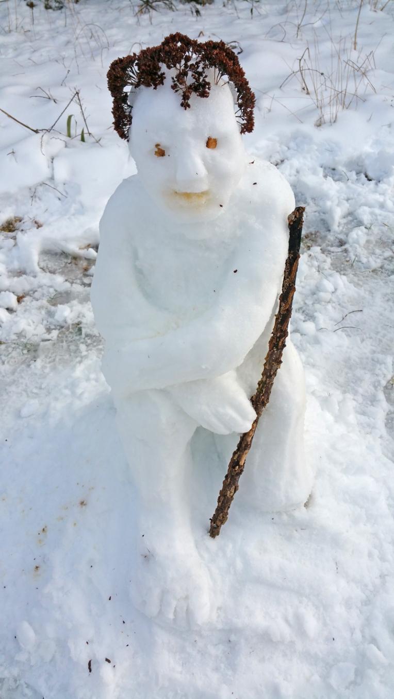 Snowperson-stick