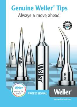 Weller brochure cover